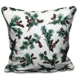 """100% Cotton Tree Leaves Cushion Cover Pillow Case Sofa Home Decor SIZE 18"""" X 18"""""""