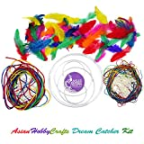 AsianHobbyCrafts DIY Dream Catcher Kit (M)
