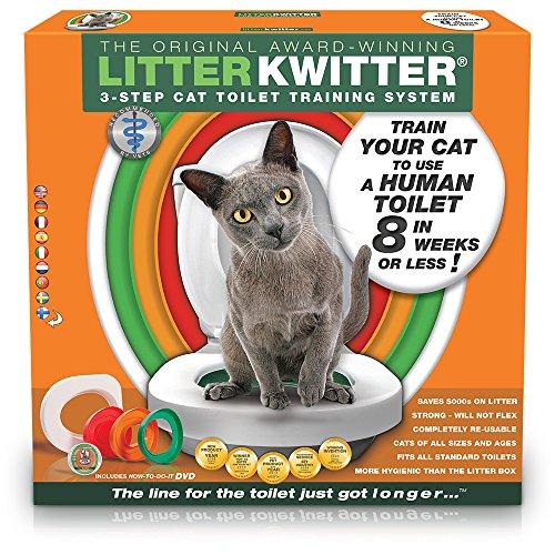 Litter kwitter LK13de paso Baños de gatos Sistema de entrenamiento