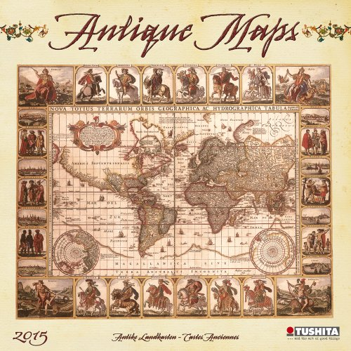 Antique Maps 2015 (Media Illustration)