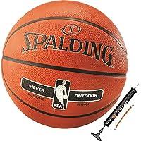 Spalding Basketball für Kinder & Erwachsene Outdoor Street Ball Größe 3 5 6 7 mit Ballpumpe