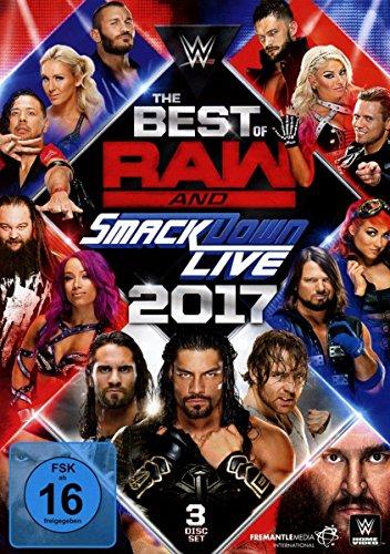 The Best of Raw & Smackdown 2017 [3 DVDs] (Besten Sport-filme)