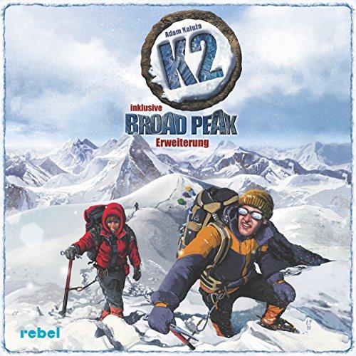 Rebel REBD0002 K2 inklusive Broad Peak Erweiterung Brettspiel Preisvergleich