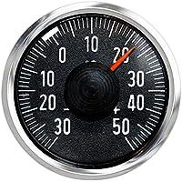 Historisches rundes Auto KFZ Thermometer von Richter HR Art 469577