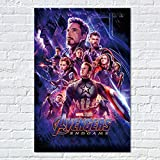 mmbj Endgame Poster Movie Prints Superhelden Film Marvel Leinwand Kunst Home Room Wall Decor Captain America Bilder 40x60cm