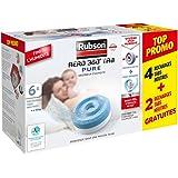 Rubson AÉRO 360° TAB Pure, 6 recharges tabs neutres anti-humidité & anti-odeurs pour déshumidificateur Rubson, purificateur d