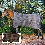 Pferde Winterdecke Horseware Rhino Wug (Regendecke) 130cm 400g Füllung Chocolate with Cream check with Chocolate & Cream