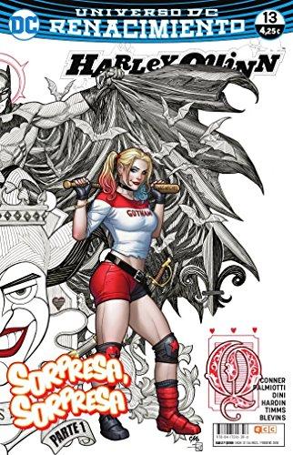 Portada del libro Harley Quinn núm. 21/ 13 (Renacimiento)