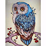 iDream Home Decoration 5D Diamond Painting Rhinestone Owl DIY Mosaic Wall Decor