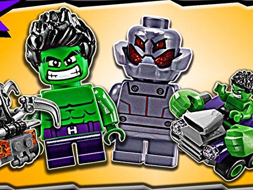 Image of Clip: Mighty Micros Hulk vs. Ultron