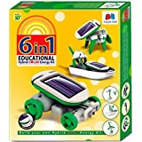GRAPPLE DEALS 6 In 1 Educational Hybrid Solar Energy Kit Series 1 And Transform Into 6 Different Models For Kids