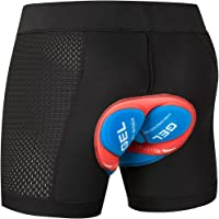 JEPOZRA Cycling Underwear Cycling Short Bicycle Short Pants 4D Silica Gel Padding Cycling Undershorts Bicycle Underwear…