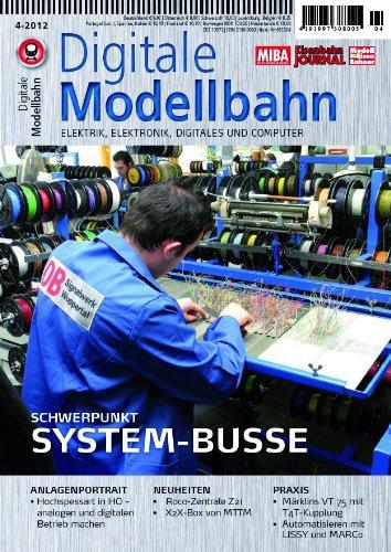 Digitale Modellbahn - System-Busse - Elektrik, Elektronik, Digitales und Computer - MIBA, Eisenbahn Journal, ModellEisenBahner
