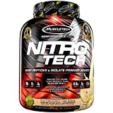 Best MuscleTech Weight Gain Supplements - MuscleTech Nitrotech Performance Series Supplement, 4 lbs, Banana Review