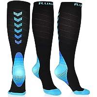 RUNACC Calze Compressione Uomo e Donna, Running Elastiche Calze Sportive Compressione Calzini Medicale Calzini Supporto…