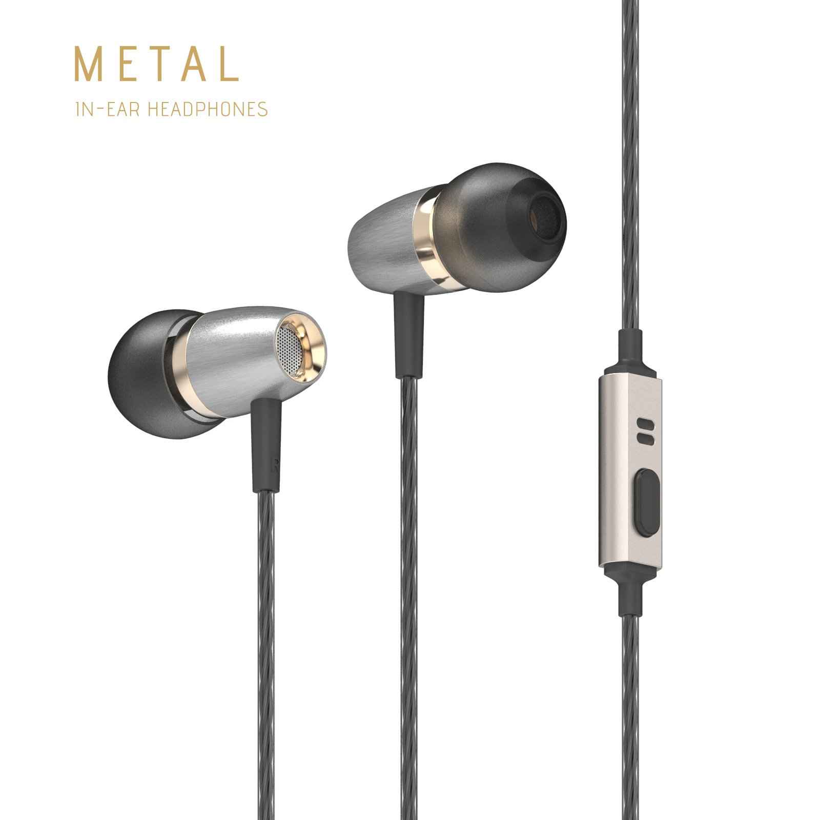 d7df66a1e97c45 Betron AX3 Earphones Noise Isolating in Ear Headphones Balanced Bass Driven  Sound with Microphone ...