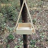 di Legno Casa Uccello alimentatori per al di Fuori - Bird House - Birdhouses Decorativi All'aperto - Uccello Casa Kit per Bambini Costruire Giardino Uccello Guardando Attrezzatura (2)