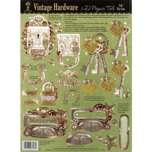 Vintage Tole (Hot Off The Press 3-D Papier Tole Foil Die-Cuts: Vintage Hardware by Hot Off The Press)