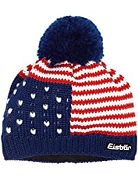 Stripes Pompom Hat Eisbär pompom hat women´s beanie