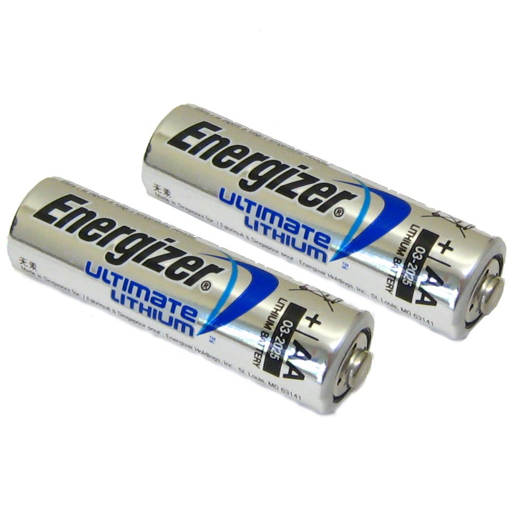 All Trade Direct 2 x Aa Energizer batterie al litio fotocamera digitale Lr6 L91 A lunga durata 2025