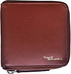 Tamanna Men Tan Genuine Leather Wallet��(8 Card Slots)