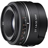Sony Alpha SAL35F18 A-mount Wide Angle Lens (Black)