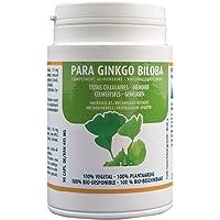 Para Ginkgo Biloba Complément Alimentaire - Mémoire - Accouphènes - Bourdonnement dans les oreilles - 90 gélules -Parabolic Biologicals