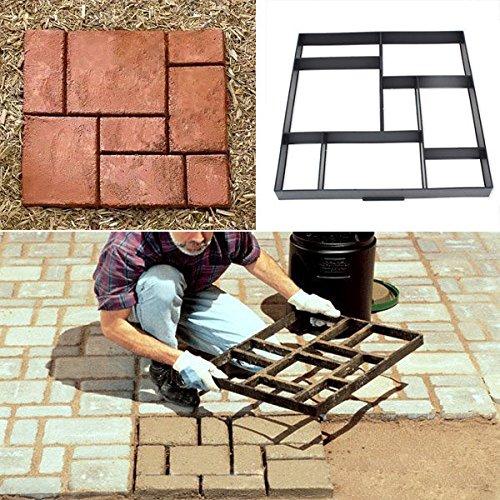 bazaar-51cm-jardin-route-de-modele-en-plastique-bricolage-chemin-de-pavage-fabricant-de-ciment-moule