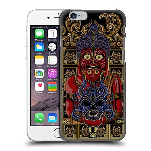 Head Case Designs Shogun Maschera Di Diavolo Giapponese Cover Retro Rigida per Apple iPhone 7 Plus / 8 Plus Buddha