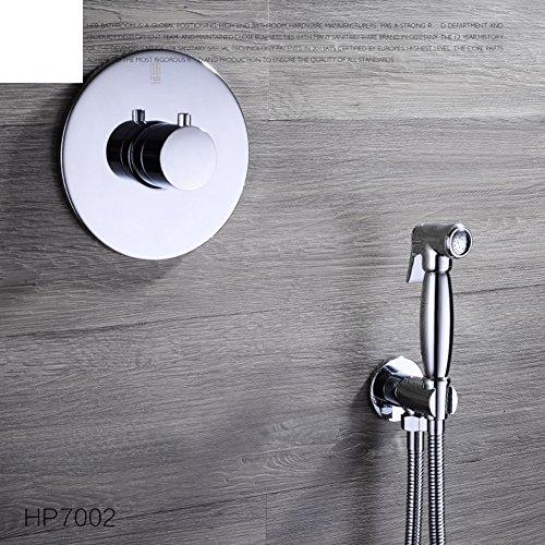 HCP Tout le cuivre bidet chaud et froid lavage de bidet/robinet Bidet/Vaginal arrosage sous pression costume pistolet toilettes