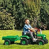 Siva 8053 - Kindertraktor mit Anhänger