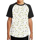 Youth tee T Shirt For Teenager Hedgehog Animal Pattern Boy Tshirts