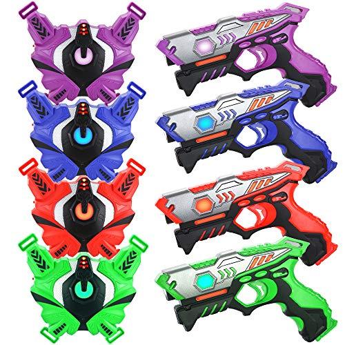TINOTEEN Laser Tag Guns Set mit Westen,