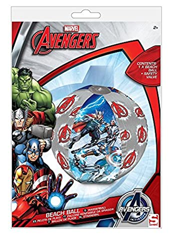 Marvel Avengers 16 Summer Kids Inflatable Pool Float Beach Ball Toys by Marvel