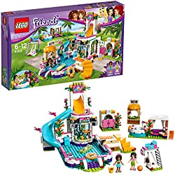 LEGO Friends - La piscine d'Heartlake City - 41313 - Jeu de Construction