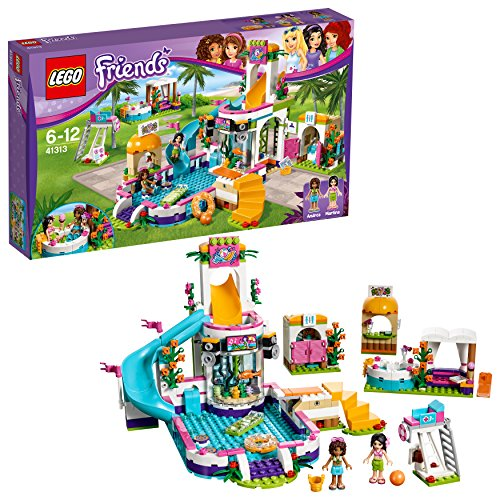 LEGO Friends - La Piscina all'Aperto di Heartlake, 41313