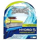Wilkinson Sword Hydro 5 Power Select Klingen, 4 Stück