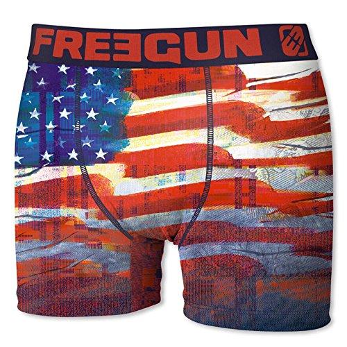 Freegun Boxershort Herren Flagge der Vereinigten Staaten USA (XL)