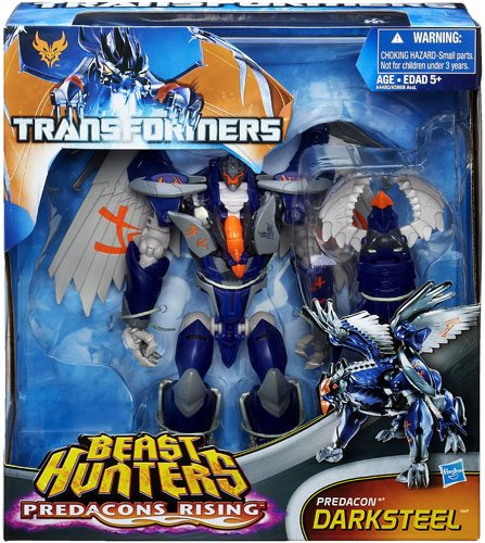 Hasbro Transformers Beast Hunters Exclusive Predacons Rising DarkSteel Voyager Class Action Figure