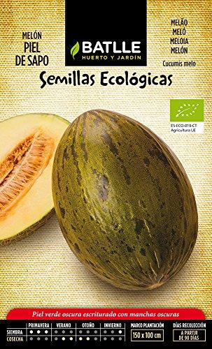 Semillas Ecológicas Hortícolas - Melón Piel de Sapo - ECO - Batlle
