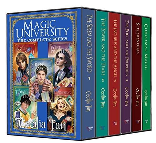 Magic University: The Complete Series: A Magical New Adult Romance Box Set (The Magic University Series Book 6) (English Edition) Tan-box