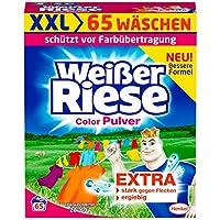 Weißer Riese Color Pulver, Waschpulver, 1er Pack (65 Waschladungen)