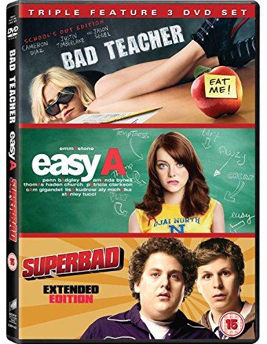 Bild von Bad Teacher / Easy a / Superbad - Set [3 DVDs] [UK Import]
