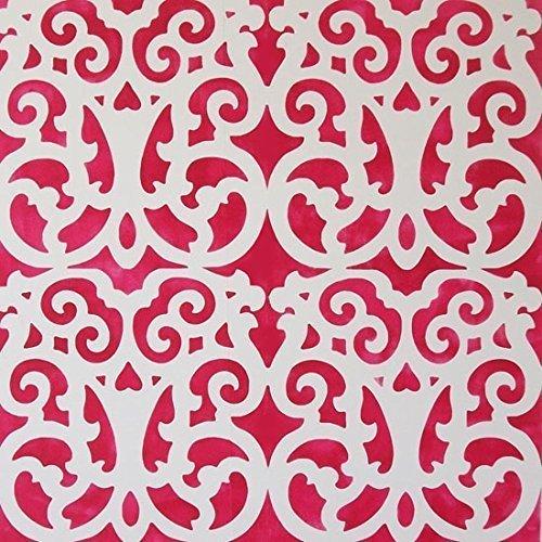 Marokkanische Marrakesch Gitter Muster Schablone Heim Wand Dekorieren Kunst & Basteln Schablone Farbe Wände Stoffe & Möbel 190 Mylar wiederverwendbar Schablone -