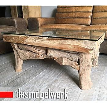 dasmöbelwerk Wurzelblock Tisch Couchtisch Wurzelholz Teak Rustikal ...