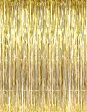 Generic Party Propz Golden Metallic Frin...