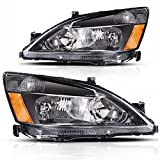 #7: AUTOSAVER88 03 04 05 06 07 Honda Accord Headlight Assembly