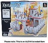 Ausini Knights Castle Sets 8 figures King's lion Fortress kingdoms 686pcs #27906