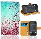 HTC Desire 530 Handy Tasche, FoneExpert Wallet Case Flip