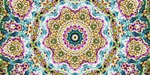 Rompecabezas 1500 Piezas Adultos De Madera Niño Puzzle-Mandala Amarilla-Juego Casual De Arte Diy Juguetes Regalo Interesantes Amigo Familiar Adecuado